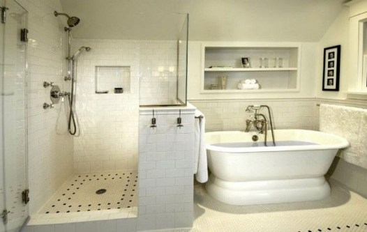 Cool Minimalist Bathroom to Add to Your Dream Home Decor 11