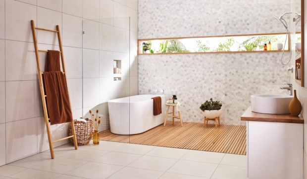 Cool Minimalist Bathroom to Add to Your Dream Home Decor 21