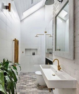Cool Minimalist Bathroom to Add to Your Dream Home Decor 23