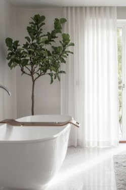 Cool Minimalist Bathroom to Add to Your Dream Home Decor 27