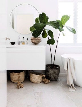 Cool Minimalist Bathroom to Add to Your Dream Home Decor 29