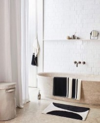 Cool Minimalist Bathroom to Add to Your Dream Home Decor 57