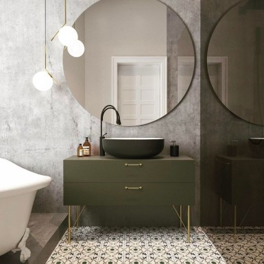 Cool Minimalist Bathroom to Add to Your Dream Home Decor 61