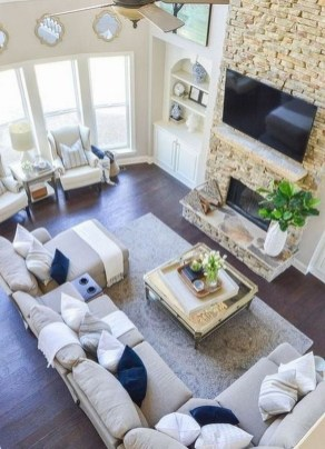 Cozy Scandinavian Living Room Designs Ideas 07