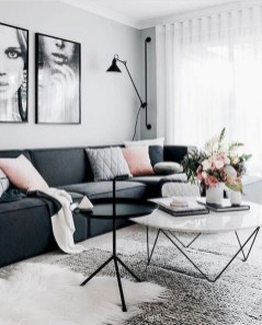 Cozy Scandinavian Living Room Designs Ideas 14