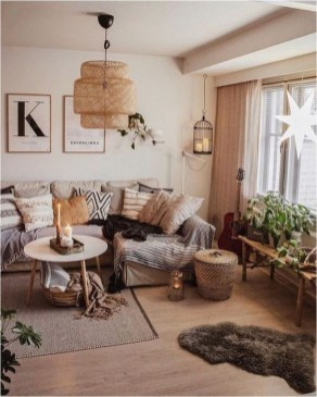 Cozy Scandinavian Living Room Designs Ideas 15