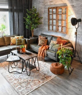 Cozy Scandinavian Living Room Designs Ideas 24