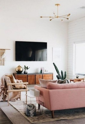 Cozy Scandinavian Living Room Designs Ideas 27