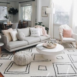 Cozy Scandinavian Living Room Designs Ideas 32