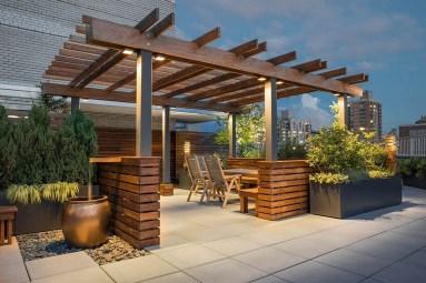 Inspiring Garden Terrace Design Ideas with Awesome Design 36
