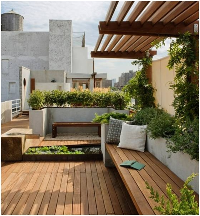 Inspiring Garden Terrace Design Ideas with Awesome Design 56