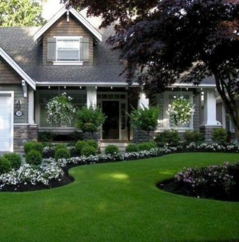 Landscaping Front Yard Ideas to Beautify Your Garden Design 27