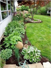 Landscaping Front Yard Ideas to Beautify Your Garden Design 34