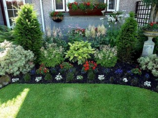 Landscaping Front Yard Ideas to Beautify Your Garden Design 53