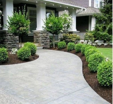 Landscaping Front Yard Ideas to Beautify Your Garden Design 56