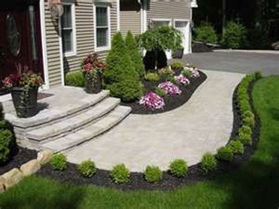 Landscaping Front Yard Ideas to Beautify Your Garden Design 57