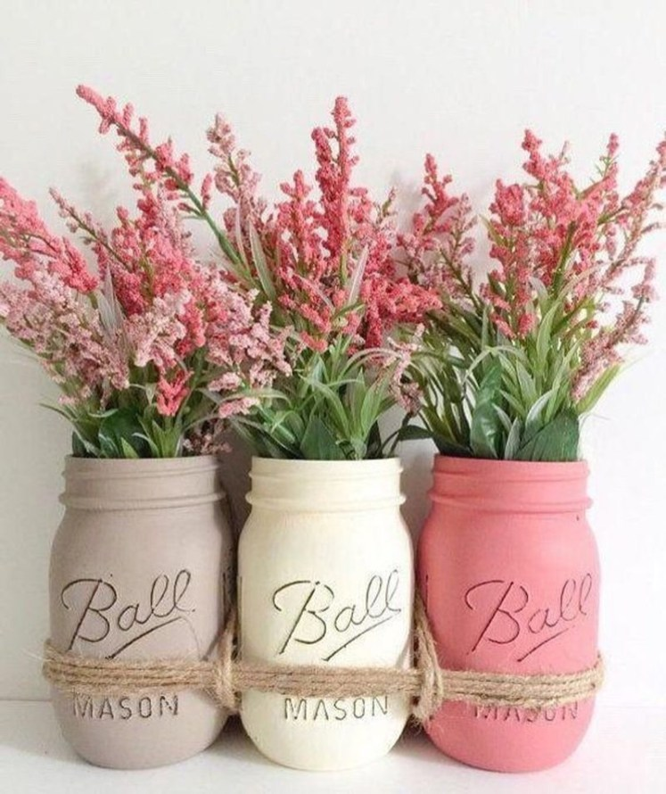 Outstanding DIY Crafts Project Ideas with Mason Jars 14