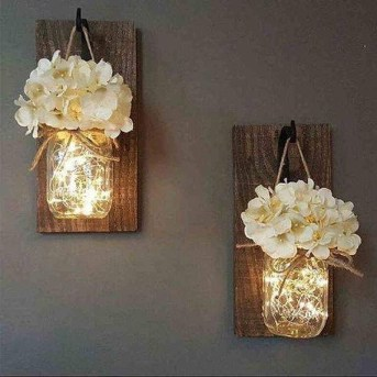 Outstanding DIY Crafts Project Ideas with Mason Jars 36