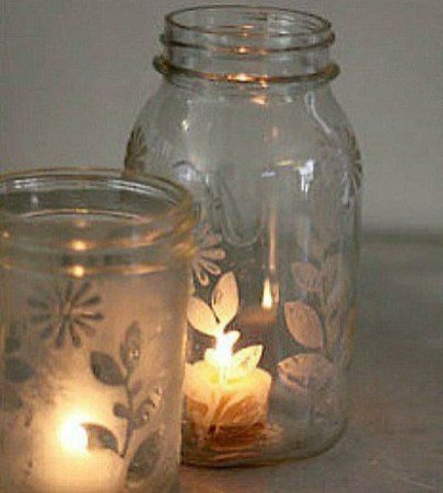 Outstanding DIY Crafts Project Ideas with Mason Jars 51
