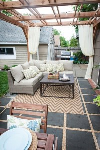 Small Backyard Patio Ideas On a Budget 52