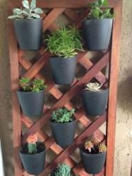 Stunning DIY Vertical Garden Design Ideas 14