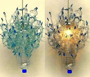 Ways to Reuse and Recycle Empty Plastic Bottles in Your Home Decoration 05