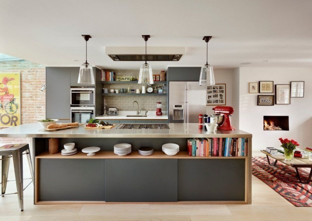 Awesome Kitchen Island Design Ideas with Modern Decor & Layout 15