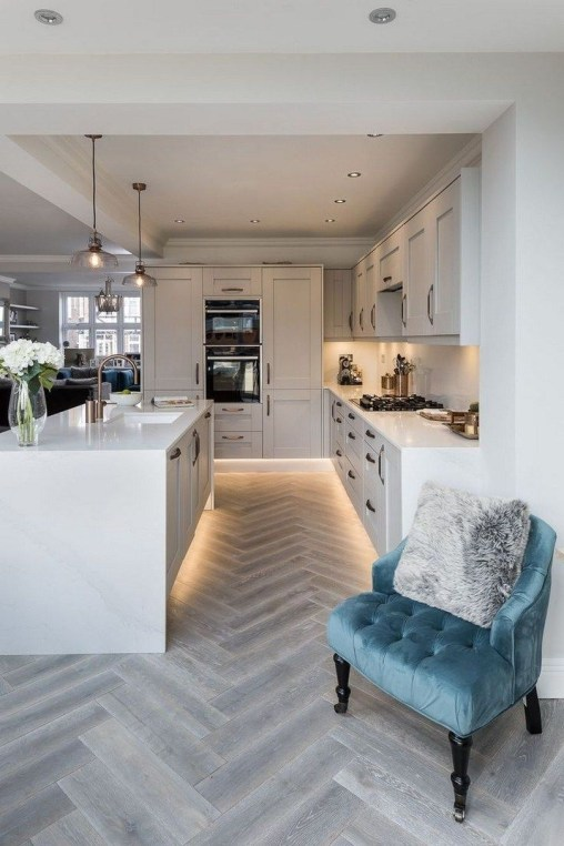 Awesome Kitchen Island Design Ideas with Modern Decor & Layout 16