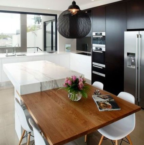 Awesome Kitchen Island Design Ideas with Modern Decor & Layout 45
