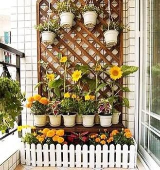 Basic Exterior Wall Into an Elegant Vertical Garden to Perfect Your Garden 09