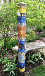 Beautiful DIY Mosaic Ideas To Beautify Your Garden 18