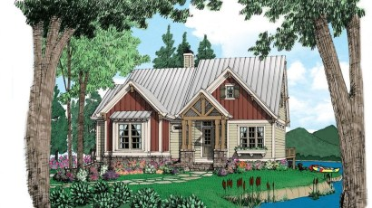 Comfortable Small Cottage House Plan Ideas 29