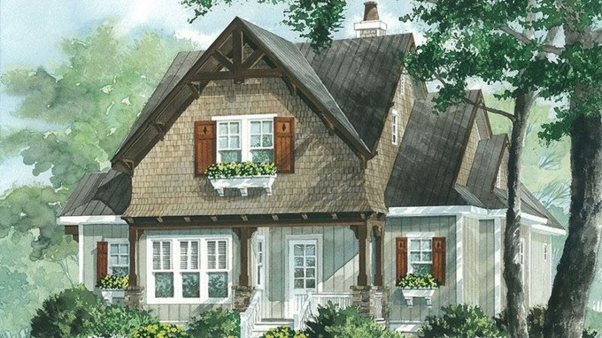 Comfortable Small Cottage House Plan Ideas 32