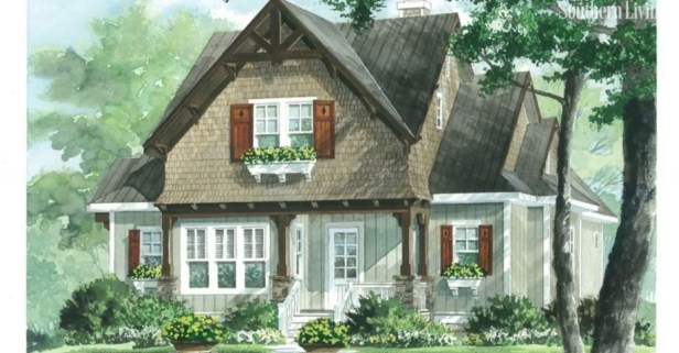 Comfortable Small Cottage House Plan Ideas 36