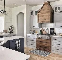 Cool Farmhouse Kitchen Decor Ideas On a Budget 03