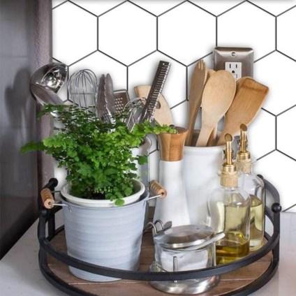 Cool Farmhouse Kitchen Decor Ideas On a Budget 06
