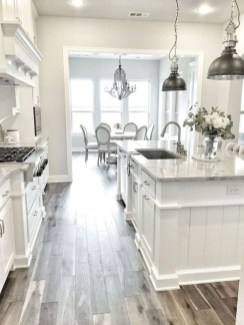 Cool Farmhouse Kitchen Decor Ideas On a Budget 09