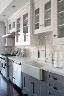 Cool Farmhouse Kitchen Decor Ideas On a Budget 12