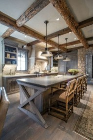 Cool Farmhouse Kitchen Decor Ideas On a Budget 22