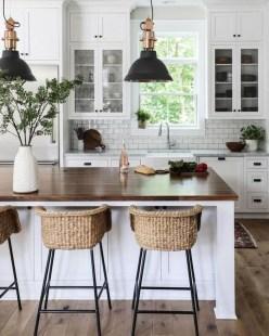 Cool Farmhouse Kitchen Decor Ideas On a Budget 39
