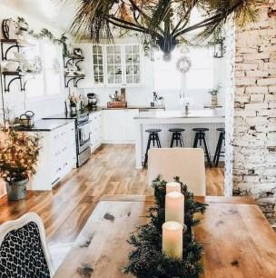 Cool Farmhouse Kitchen Decor Ideas On a Budget 54