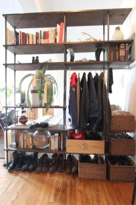 Cozy Room Divider for Small Apartments 44