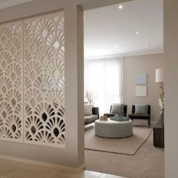 Cozy Room Divider for Small Apartments 54