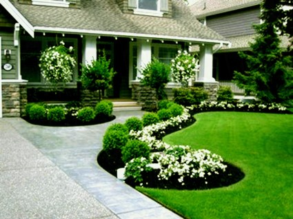 Gardening Tips- Maintenance Landscaping Front yard 01