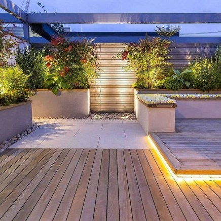 Gorgeous Front Fence Lighting Ideas to Apply Now 06
