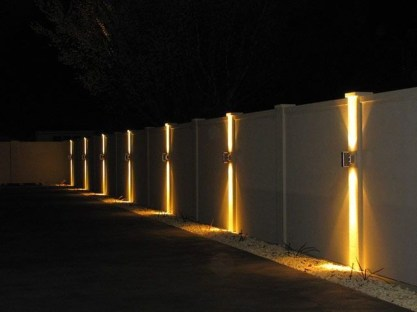 Gorgeous Front Fence Lighting Ideas to Apply Now 18