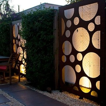 Gorgeous Front Fence Lighting Ideas to Apply Now 27