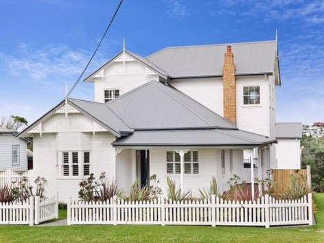 How to Coolest & Looks Bright, with Fences White-colored House 26