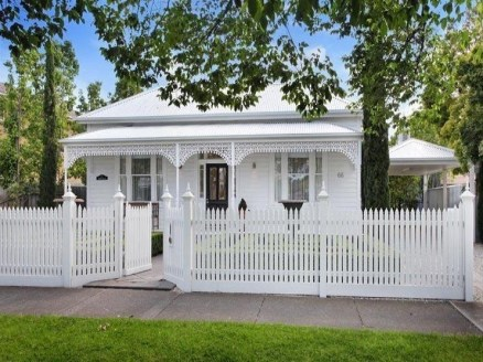 How to Coolest & Looks Bright, with Fences White-colored House 48