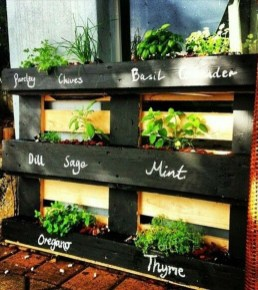 Inexpensive DIY Planter with Pallet 11